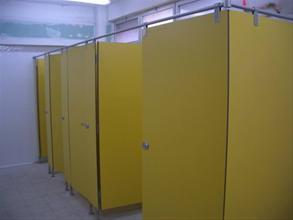 Cabinas sanitarias fenólicas modelo INOX-160421