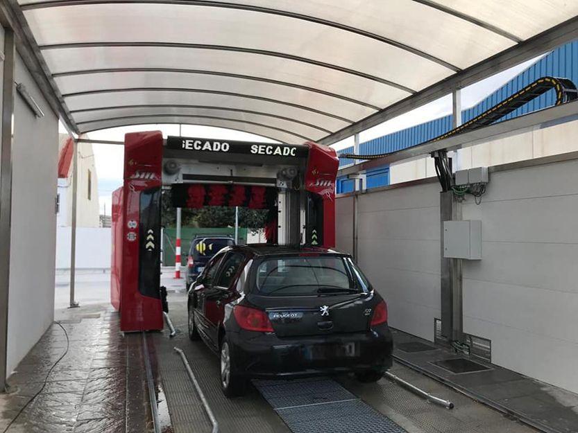 Venta de maquinaría de lavado para coches en Murcia