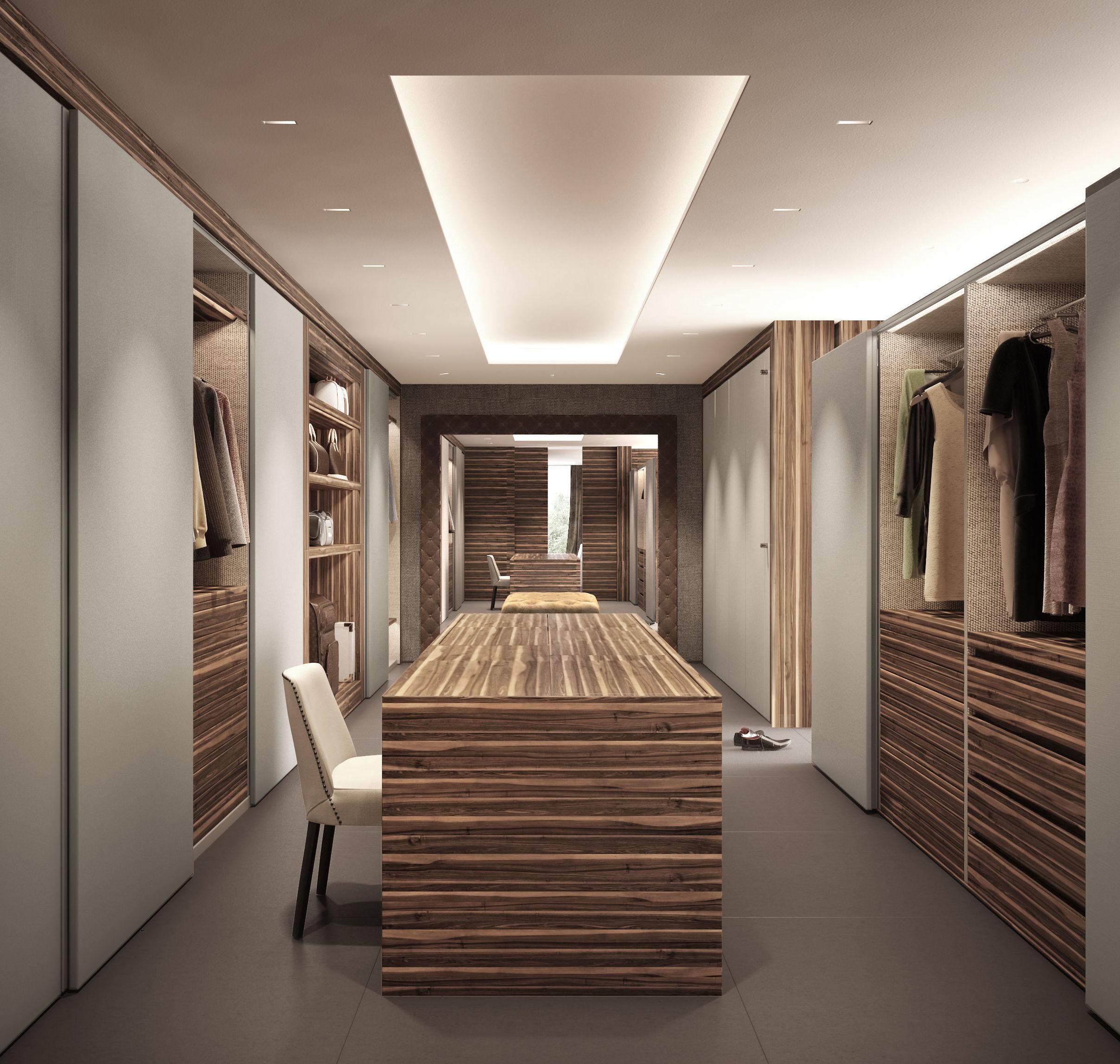 diseño de vestidor en barcelona