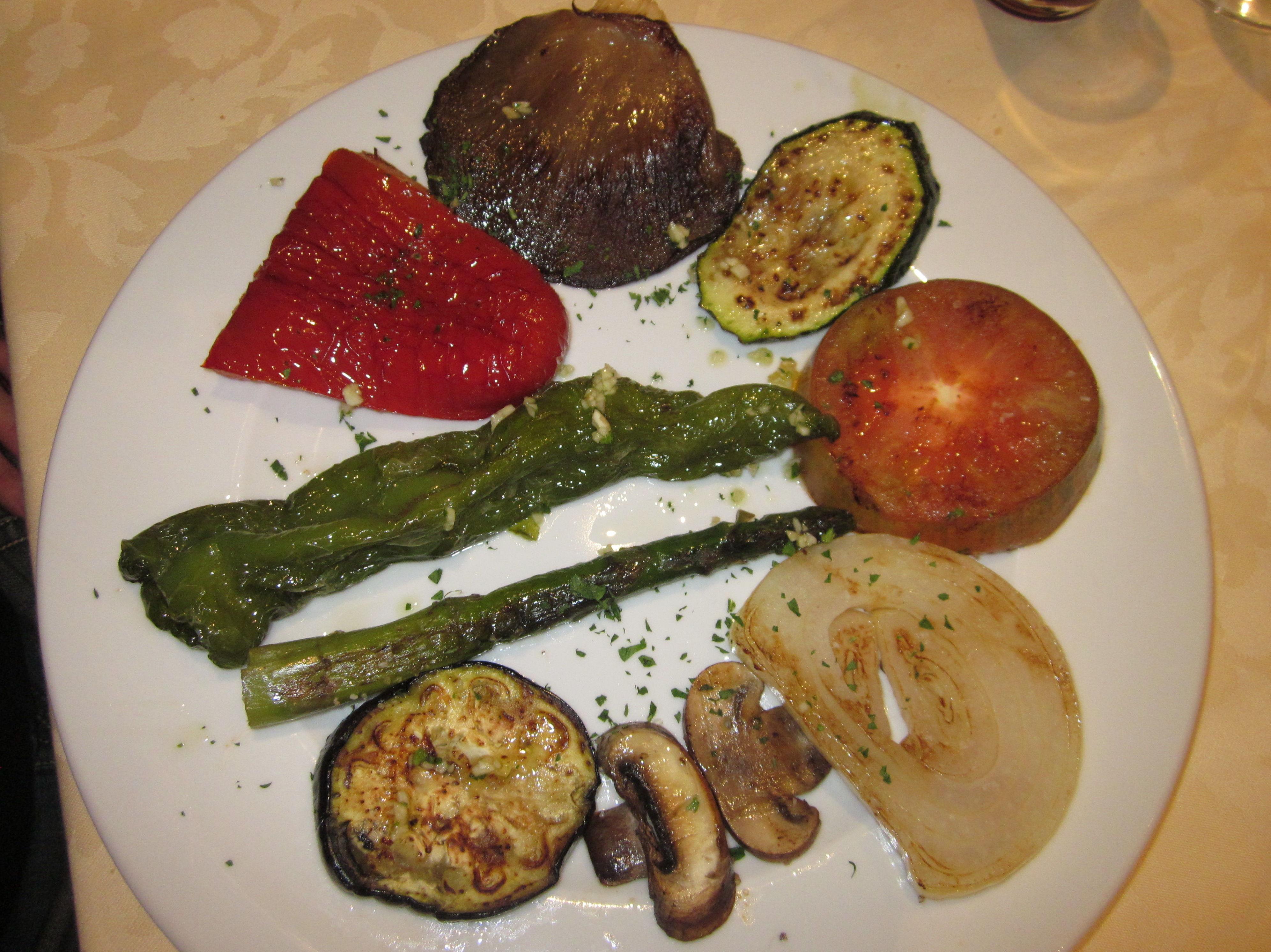 Parrillada de verduras