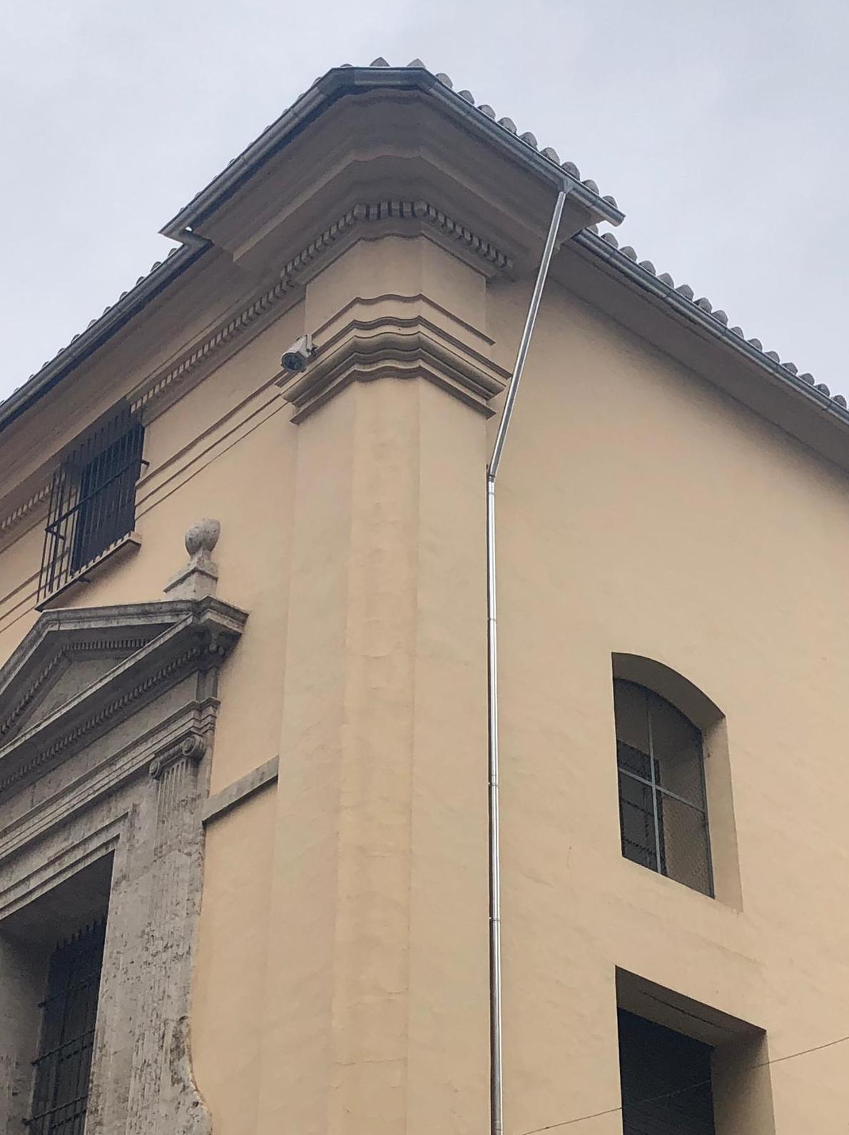 Instalacion en Zinc en el Ayuntamiento de Valencia