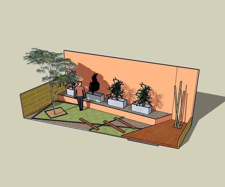 Jardines en terrazas y áticos en Madrid y  Guadalajara