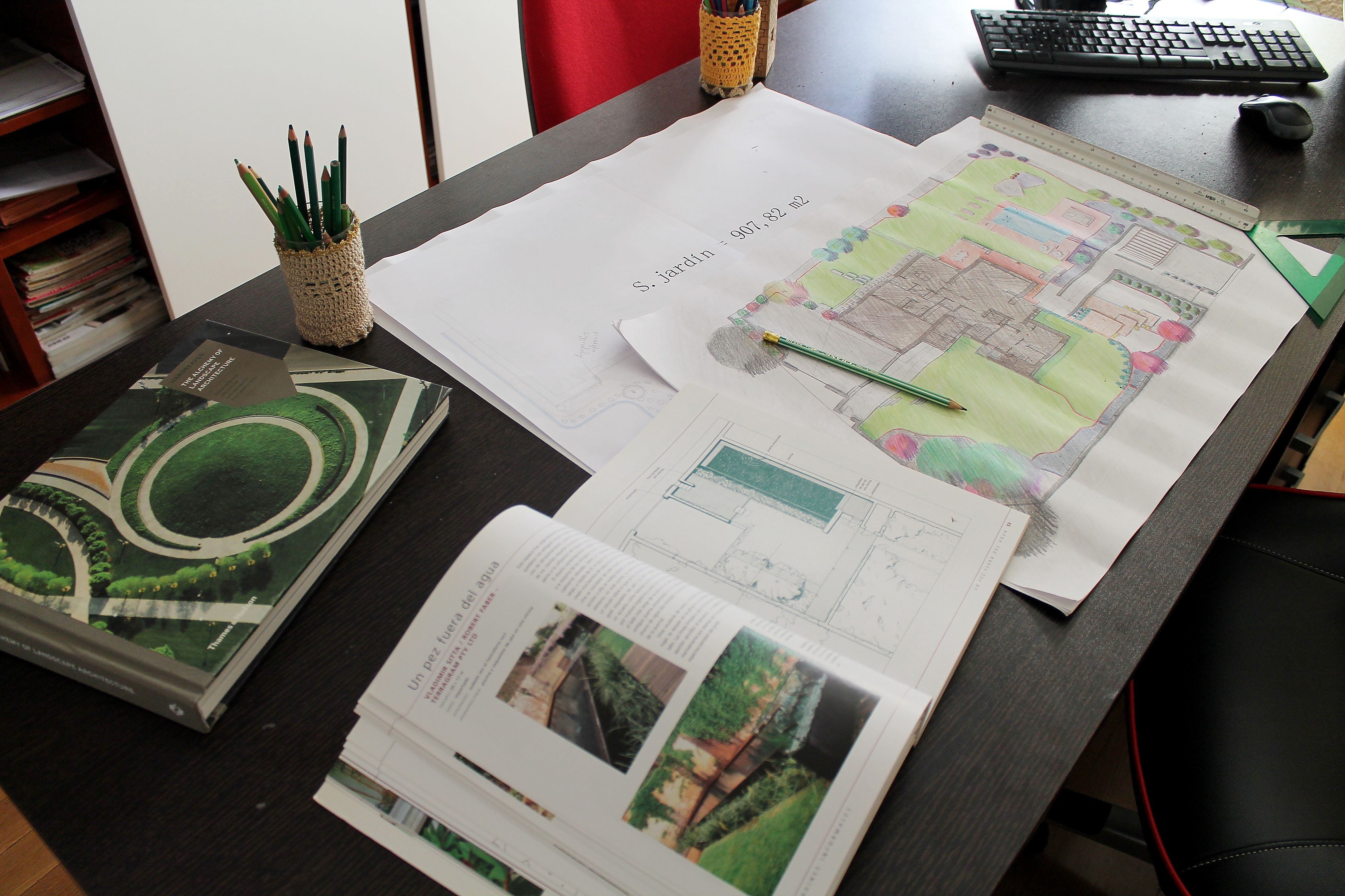 Proyectos y obras de jardinería en Madrid