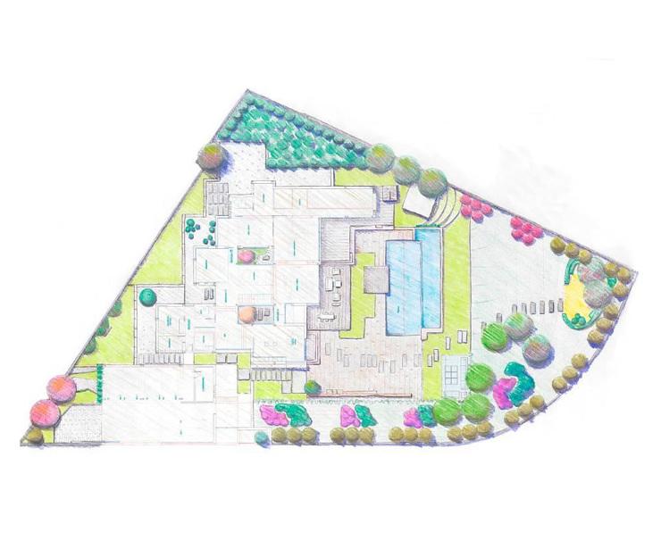 Proyectos de jardines en Madrid y  Guadalajara