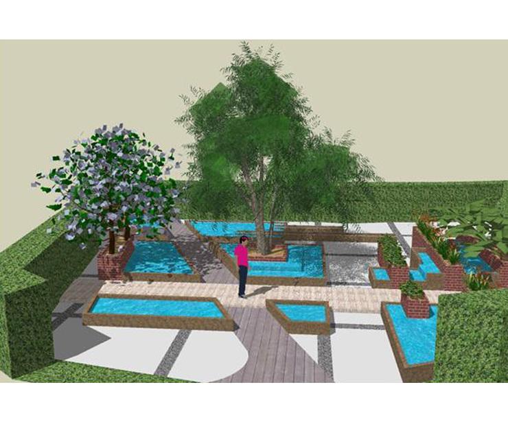Proyectos y ejecución de espacios exteriores y jardines en Madrid y  Guadalajara