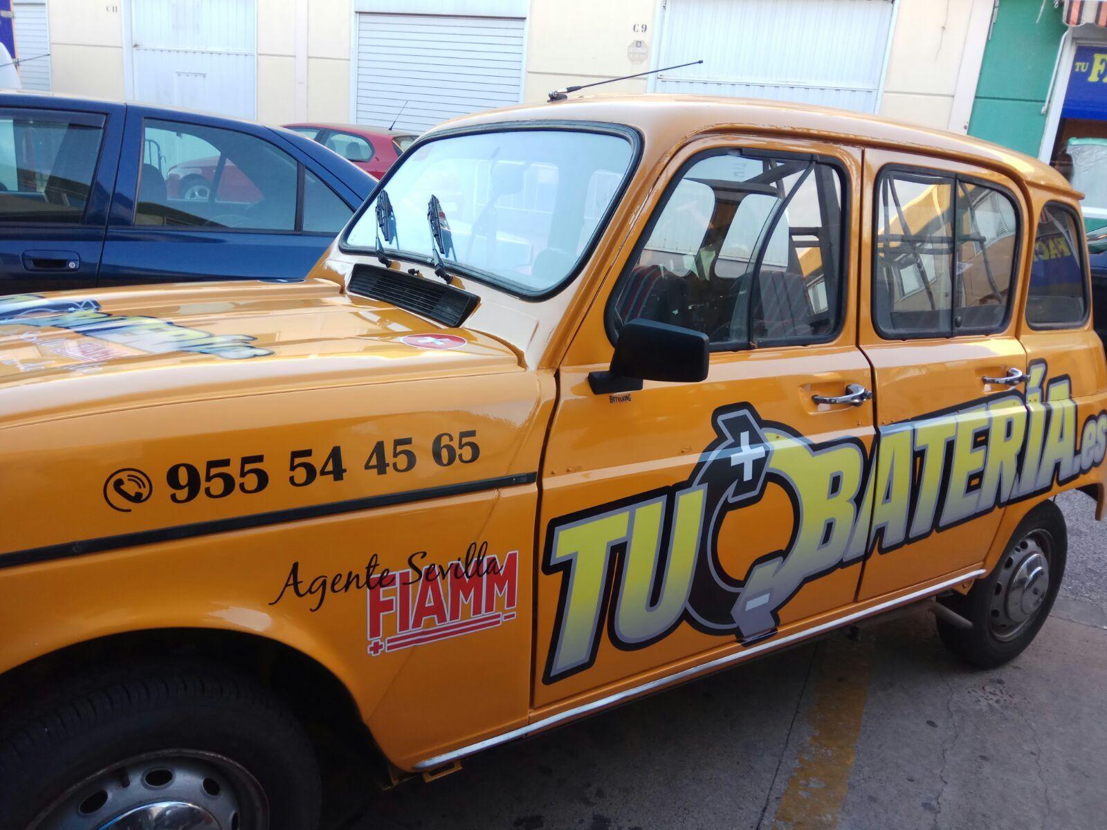 Especializados en baterías de coches en Sevilla