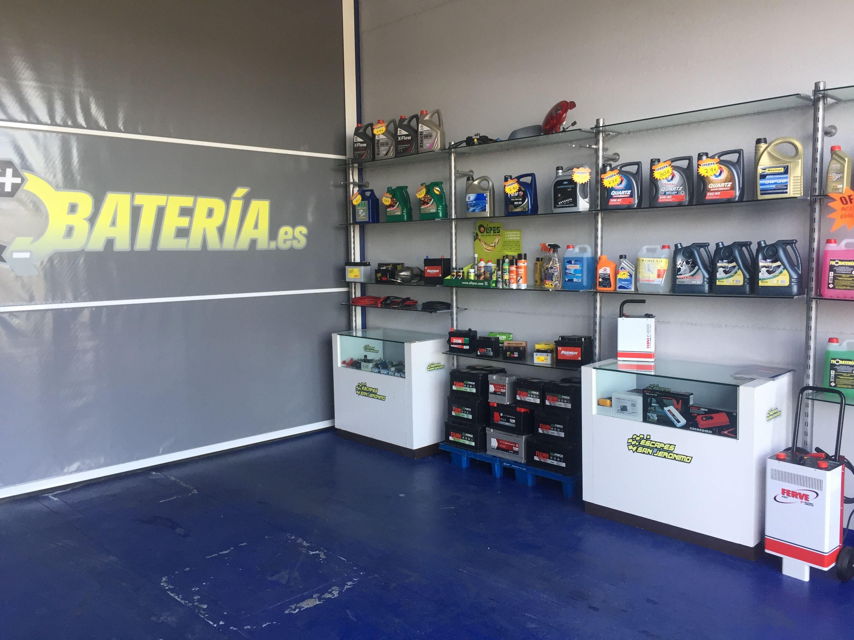 Empresa especializada en baterías de vehículos en Sevilla
