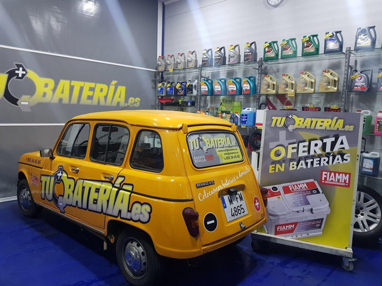 Baterías de coches en Sevilla