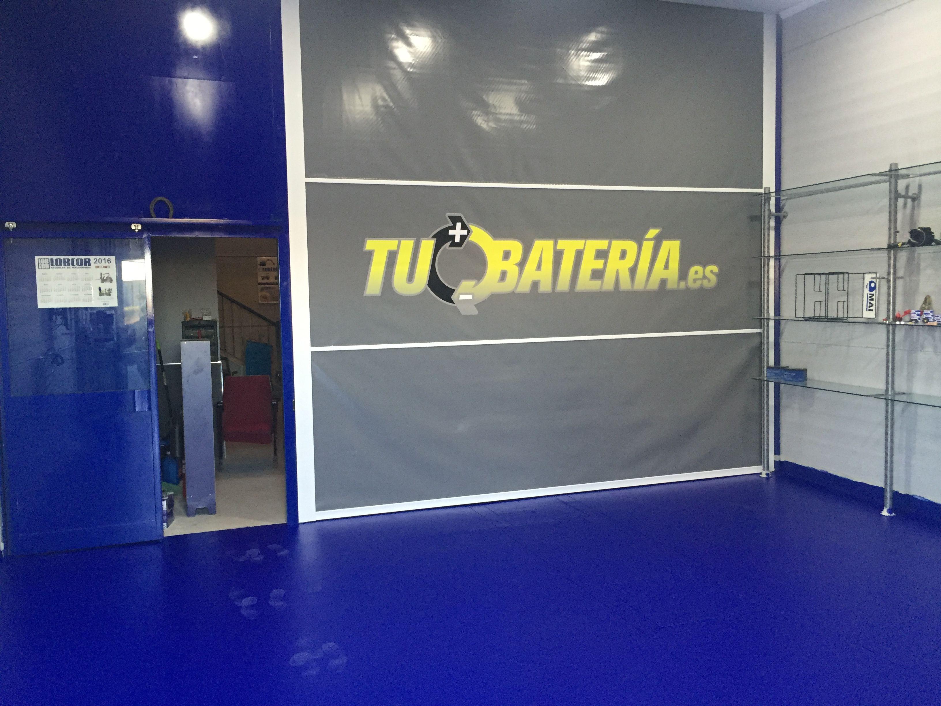 Venta y reparación de baterías en Sevilla