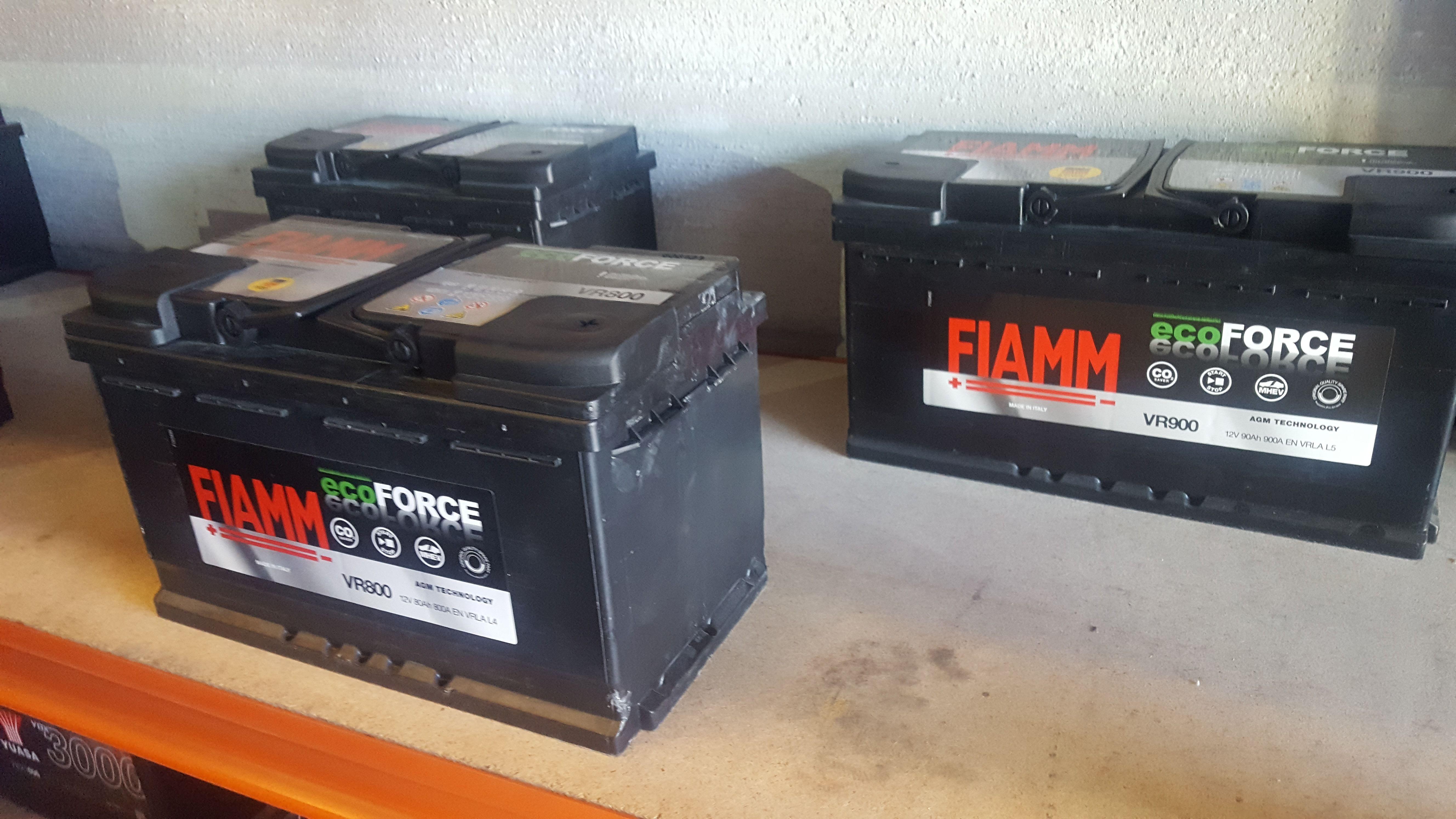 Baterías de AGM y AFB Eco Force Nuevas Tecnologías: Servicios de Tu Batería