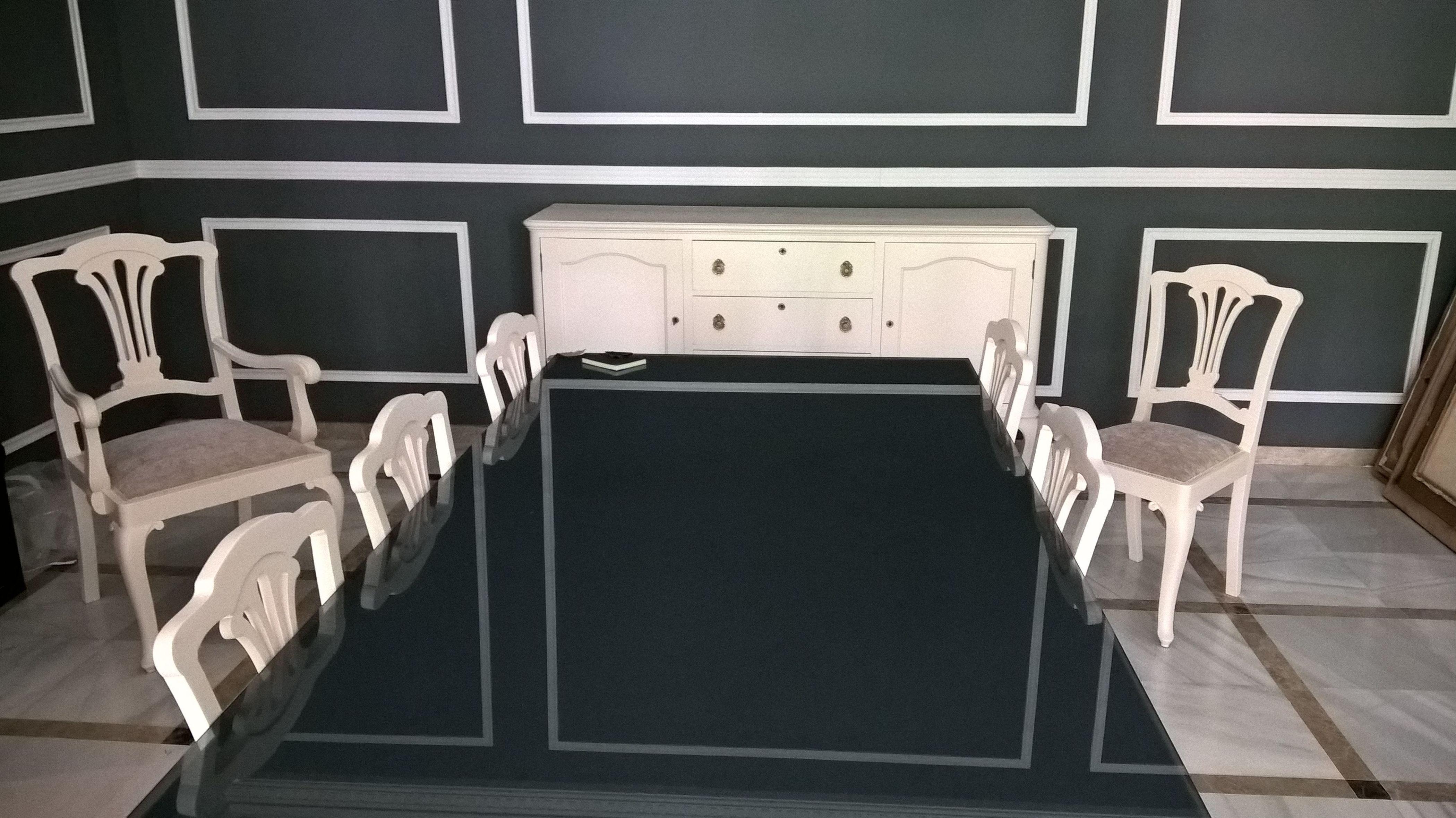 Lacado de muebles de estilo