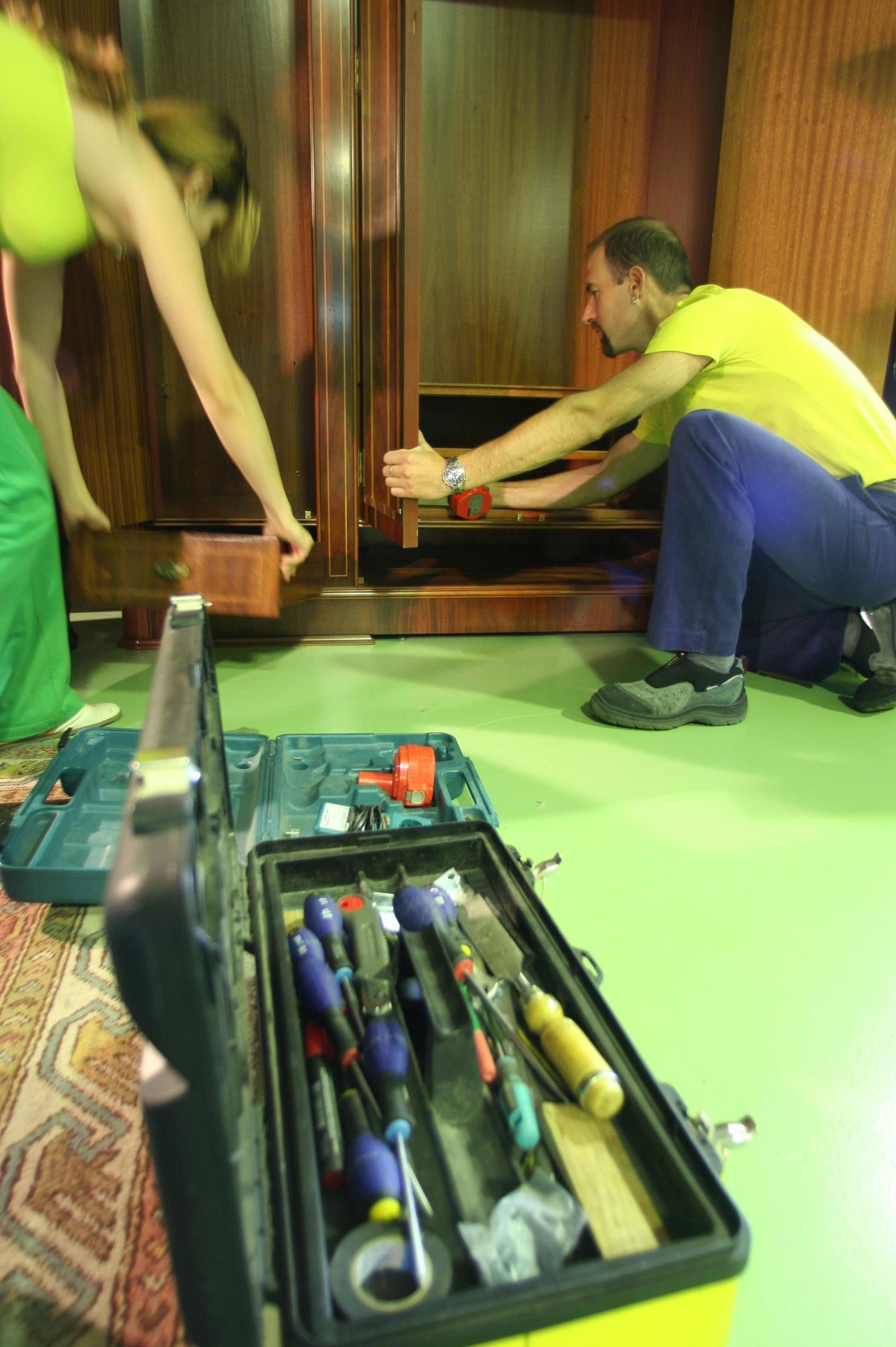 Montaje y desmontaje de muebles para la mudanza