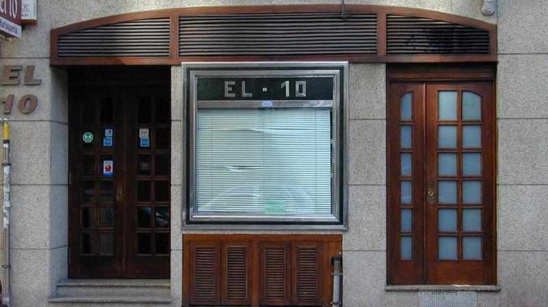 Fachada del restaurante en A Coruña