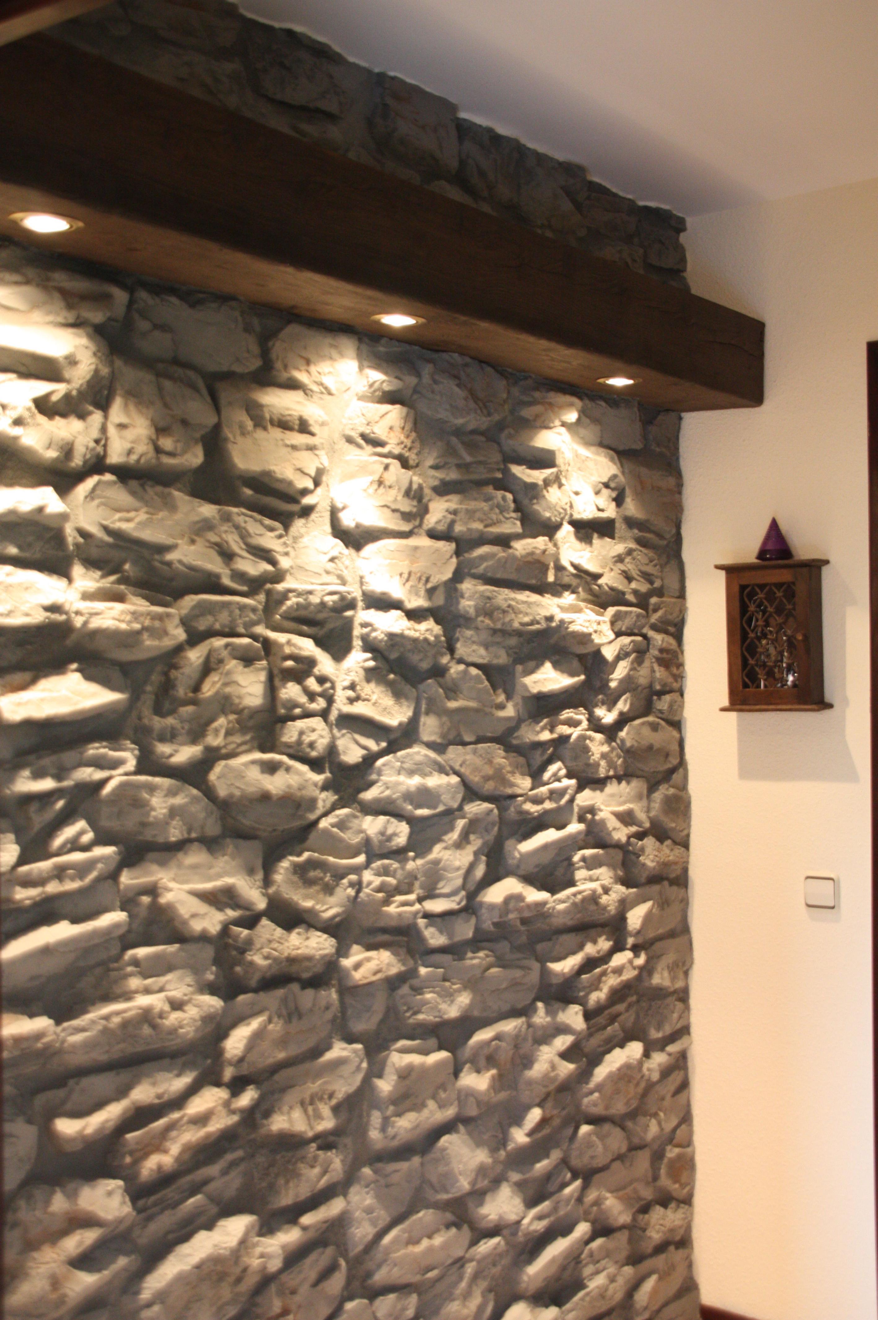 Piedra artificial servicios de albert pintura y decoraci n - Piedra artificial para interiores ...