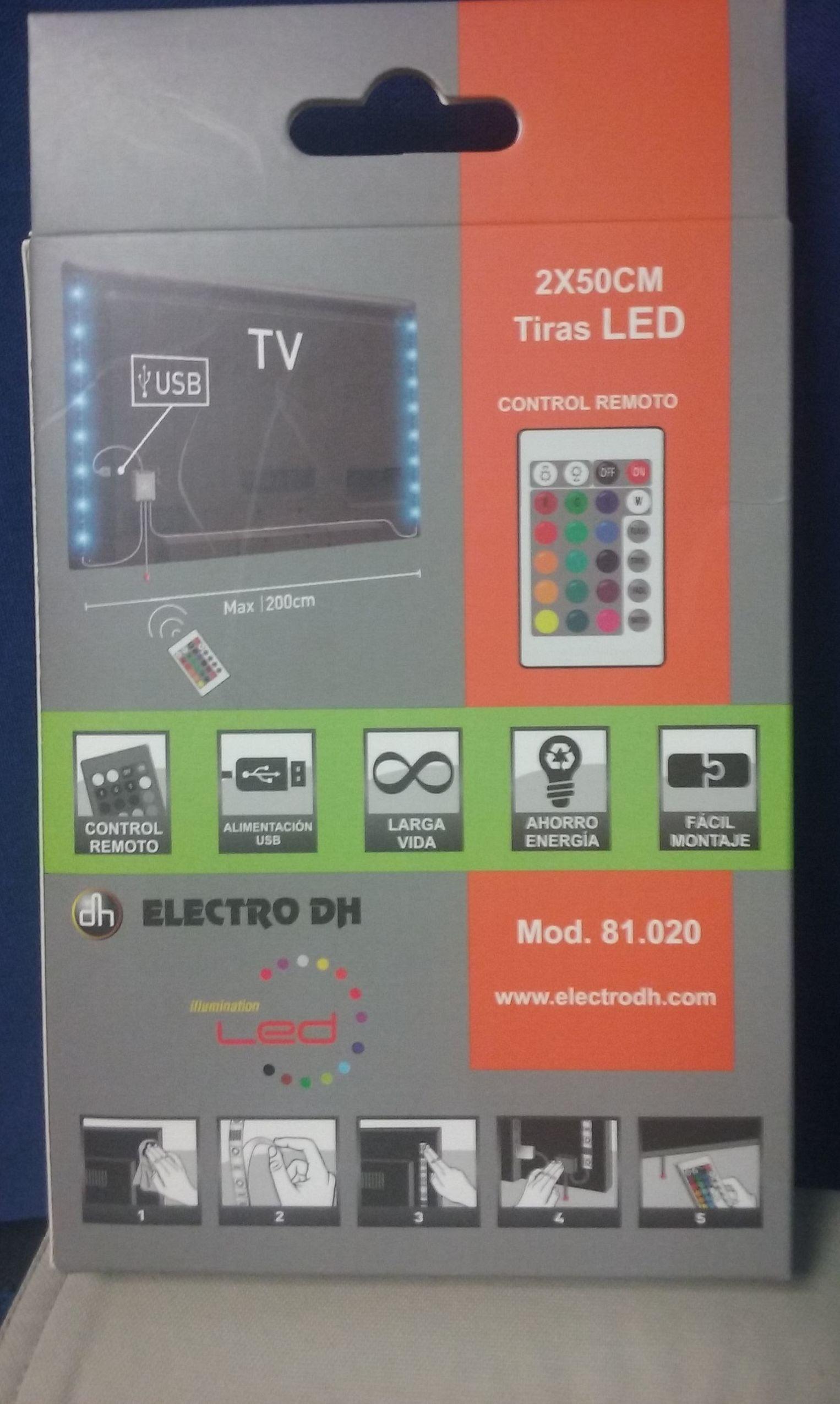 ILUMINACION LED FONDO TV