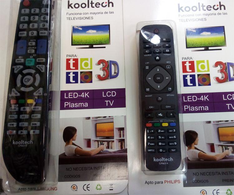 Mandos para televisiones