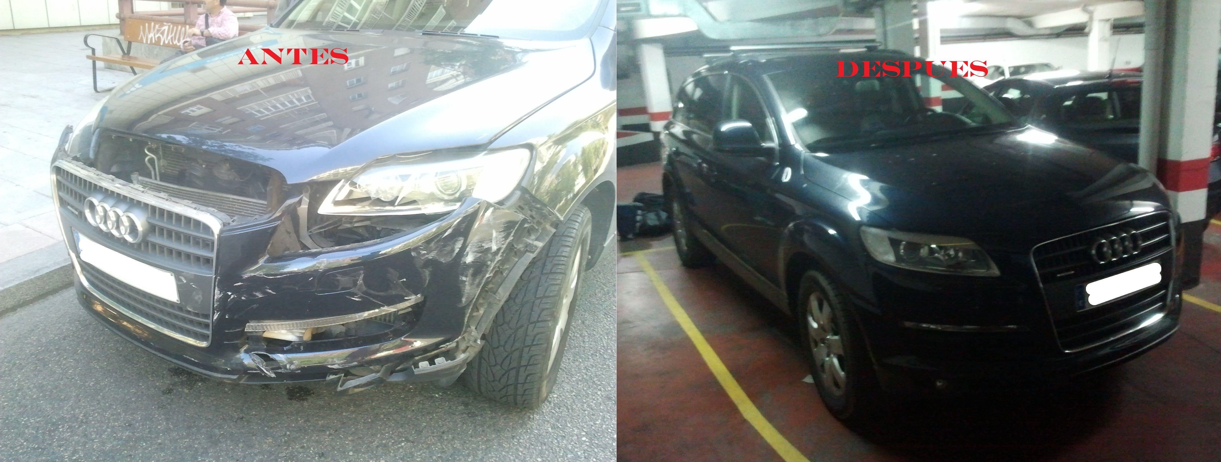 Arreglo de un Audi Q7 en Talleres Roal