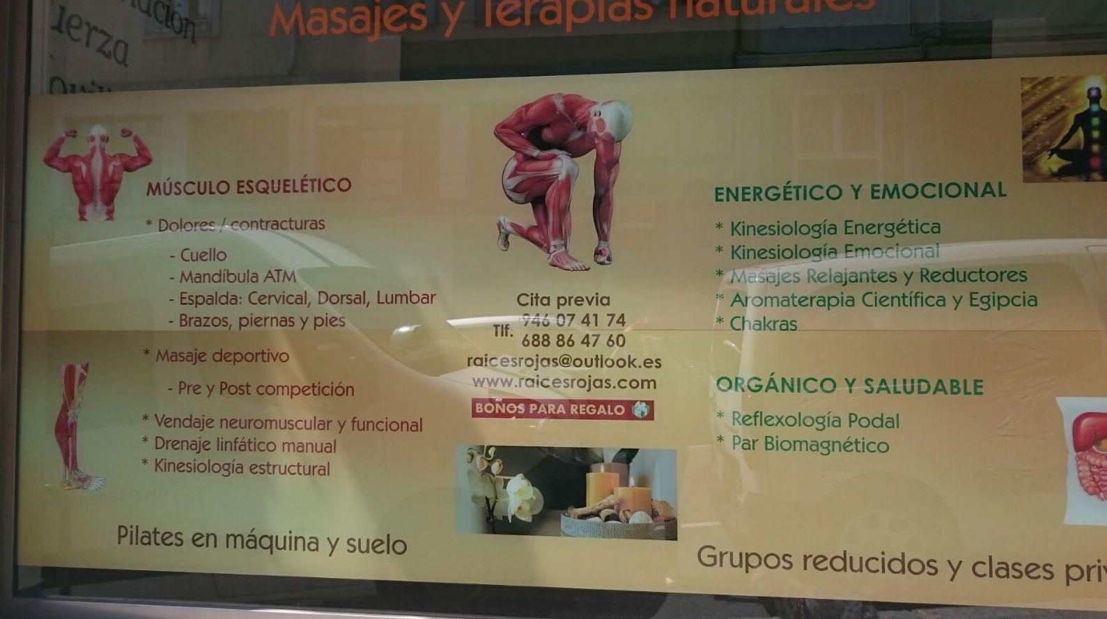 Masajes terapéuticos en Bilbao