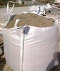 Materiales de construcción, saco de arena