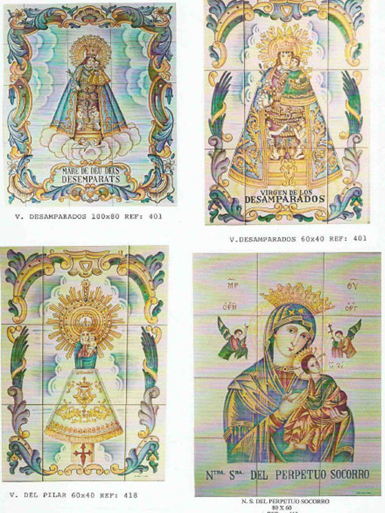 Fernando Campanero Ortiz, azulejos personalizados