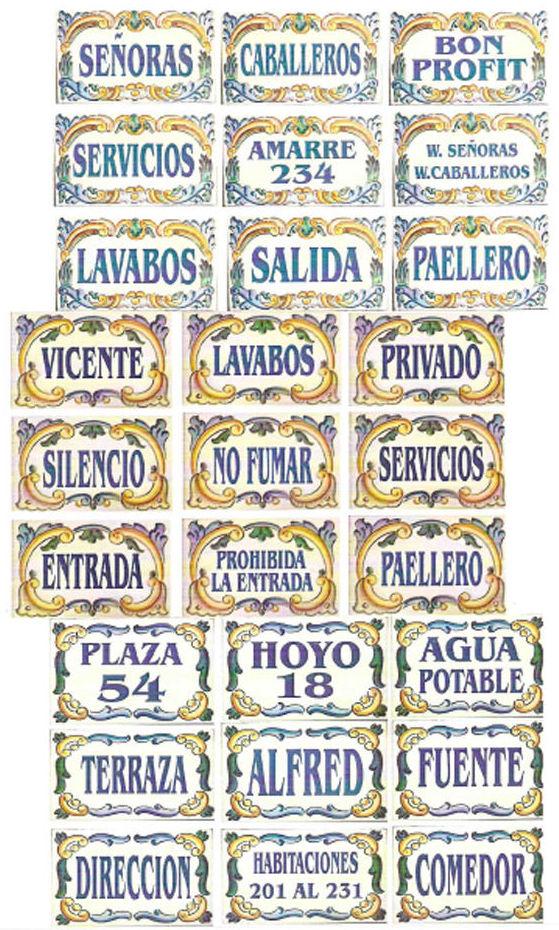 Arte cerámico en Cuenca con todo tipo de motivos