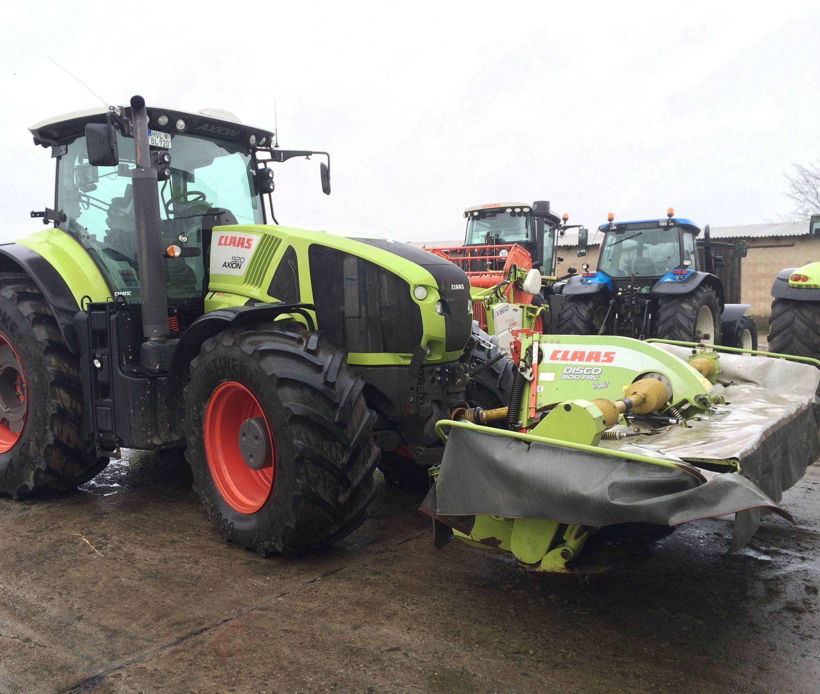 Tractores usados y Maquinaria agrícola: servicios de Grúas Benavente
