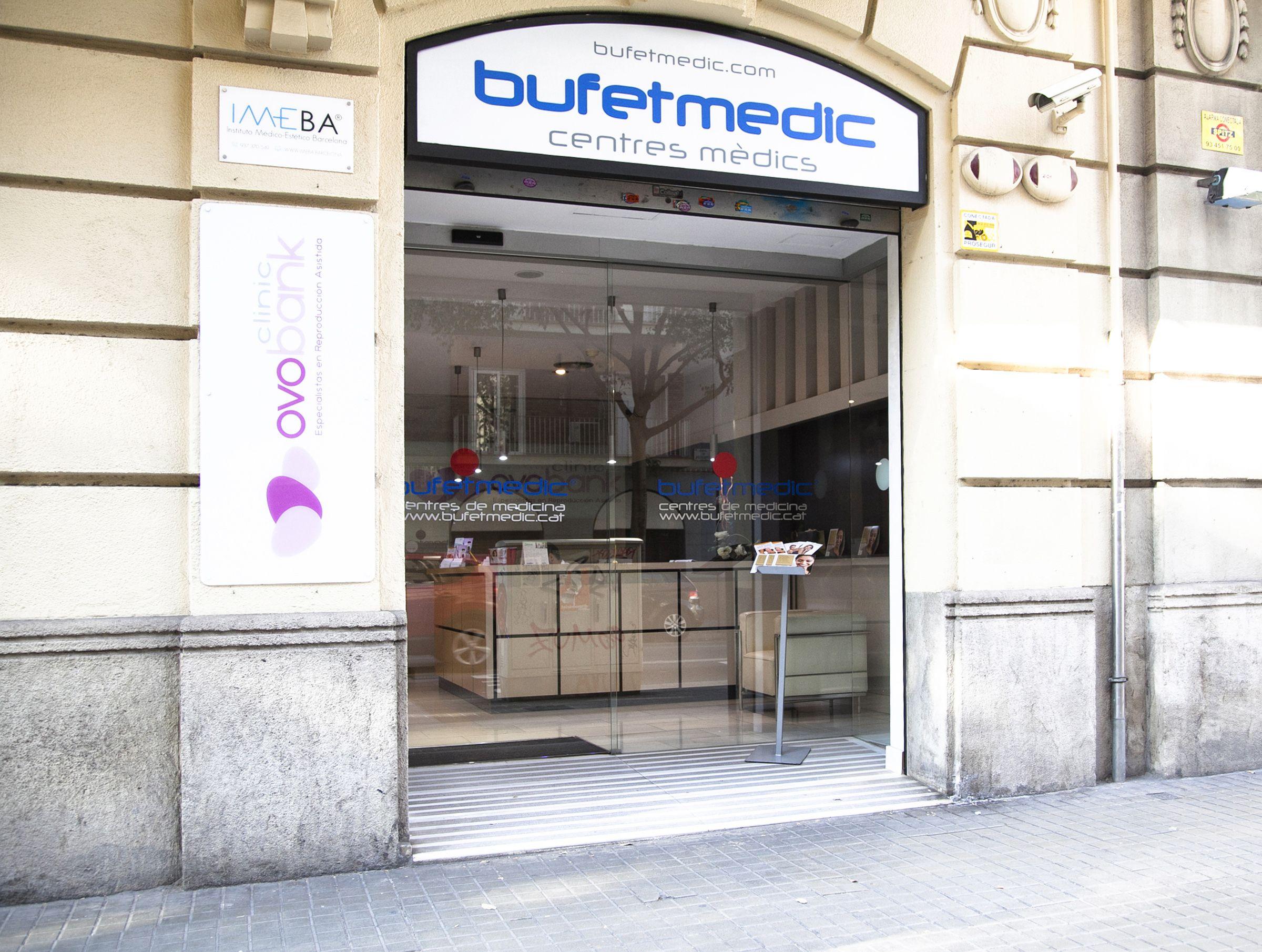 Fachada de nuestra clínica de estética en Barcelona