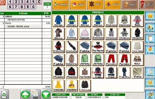Programa para Tintorerias y Lavanderías: Servicios informáticos de INSEC