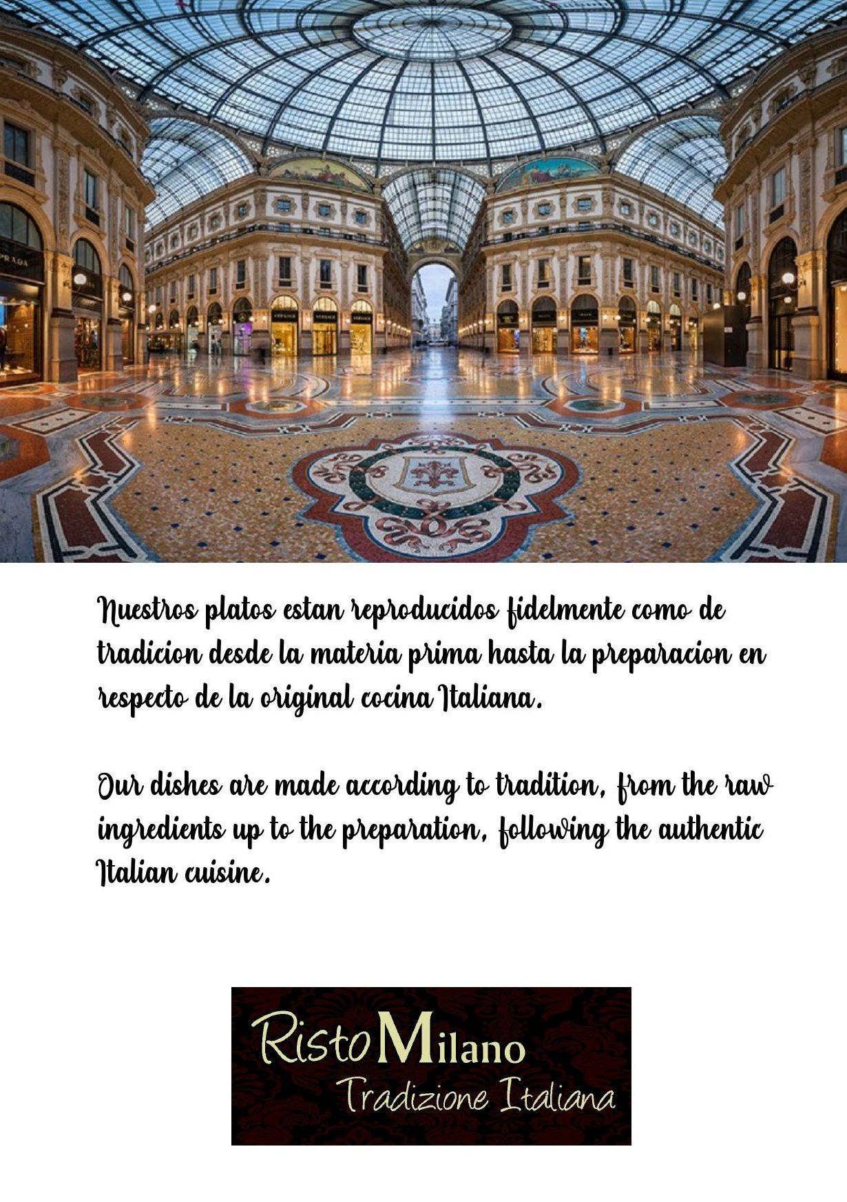 Foto 6 de Restaurante de cocina italiana en  | Risto Milano Benalmádena