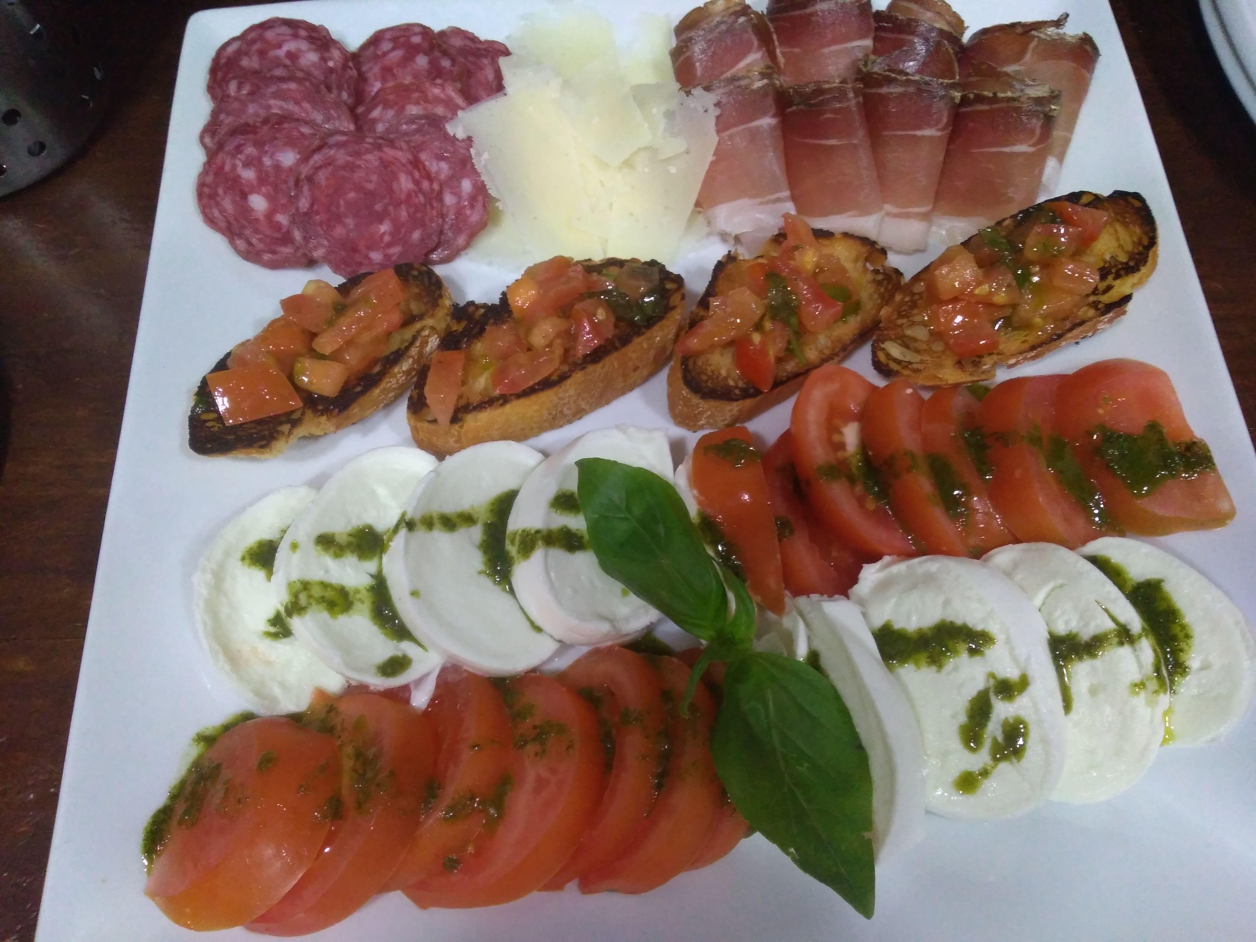 Gastronomía italiana en Benalmádena