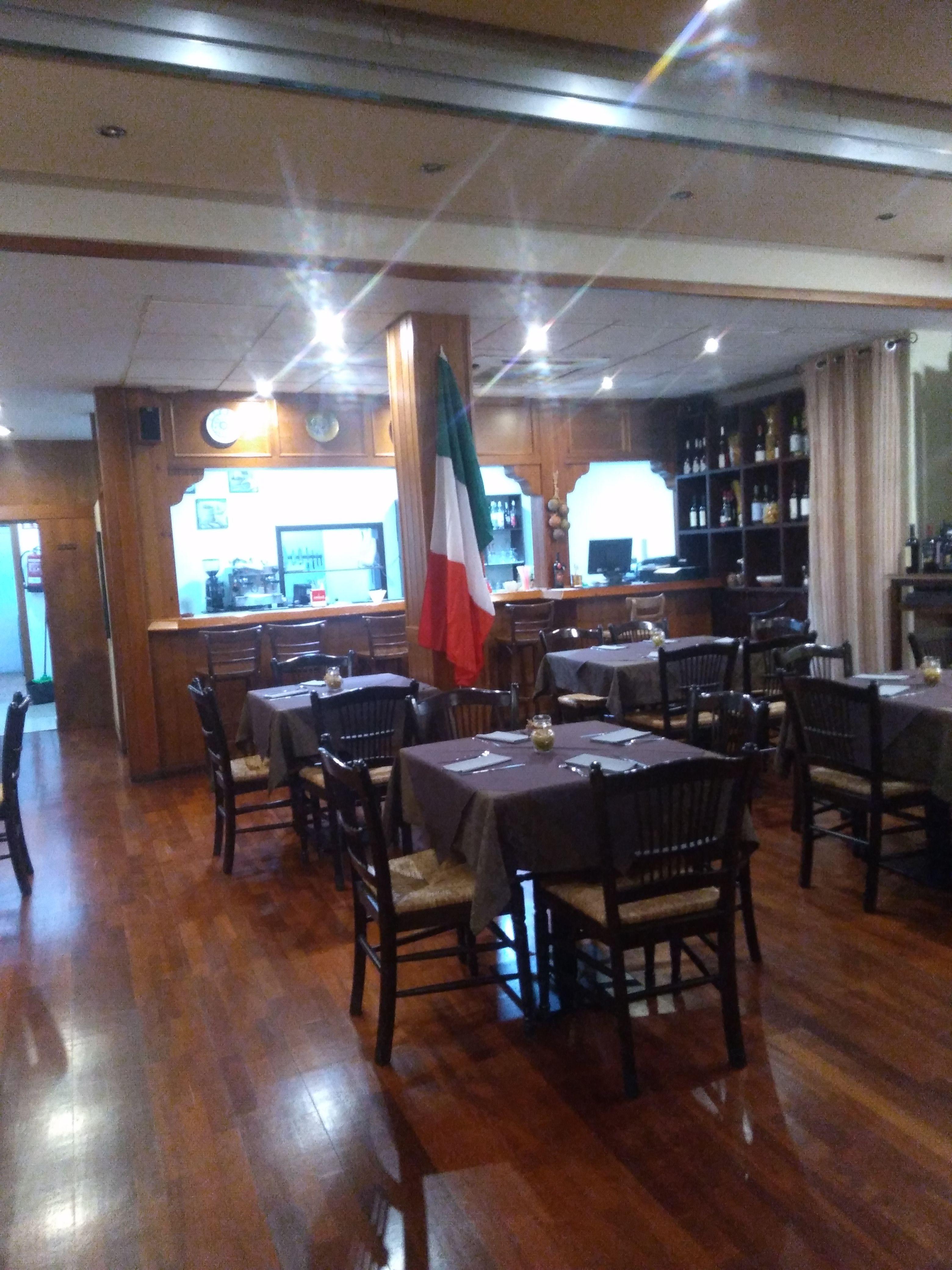 Restaurante italianoen Benalmádena