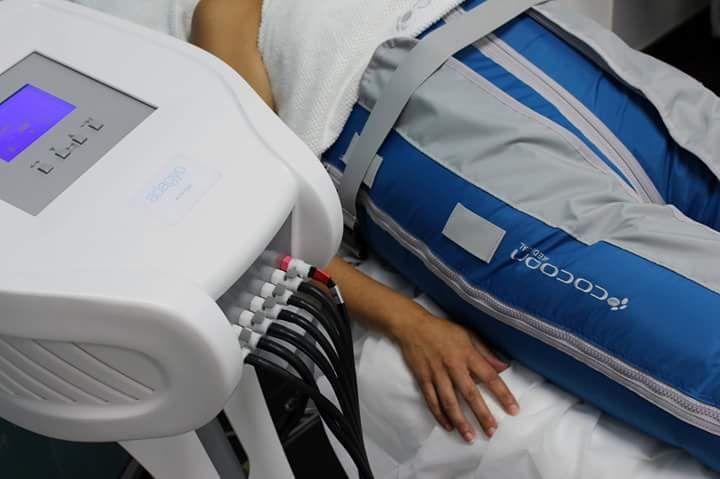 Presoterapia en Huesca