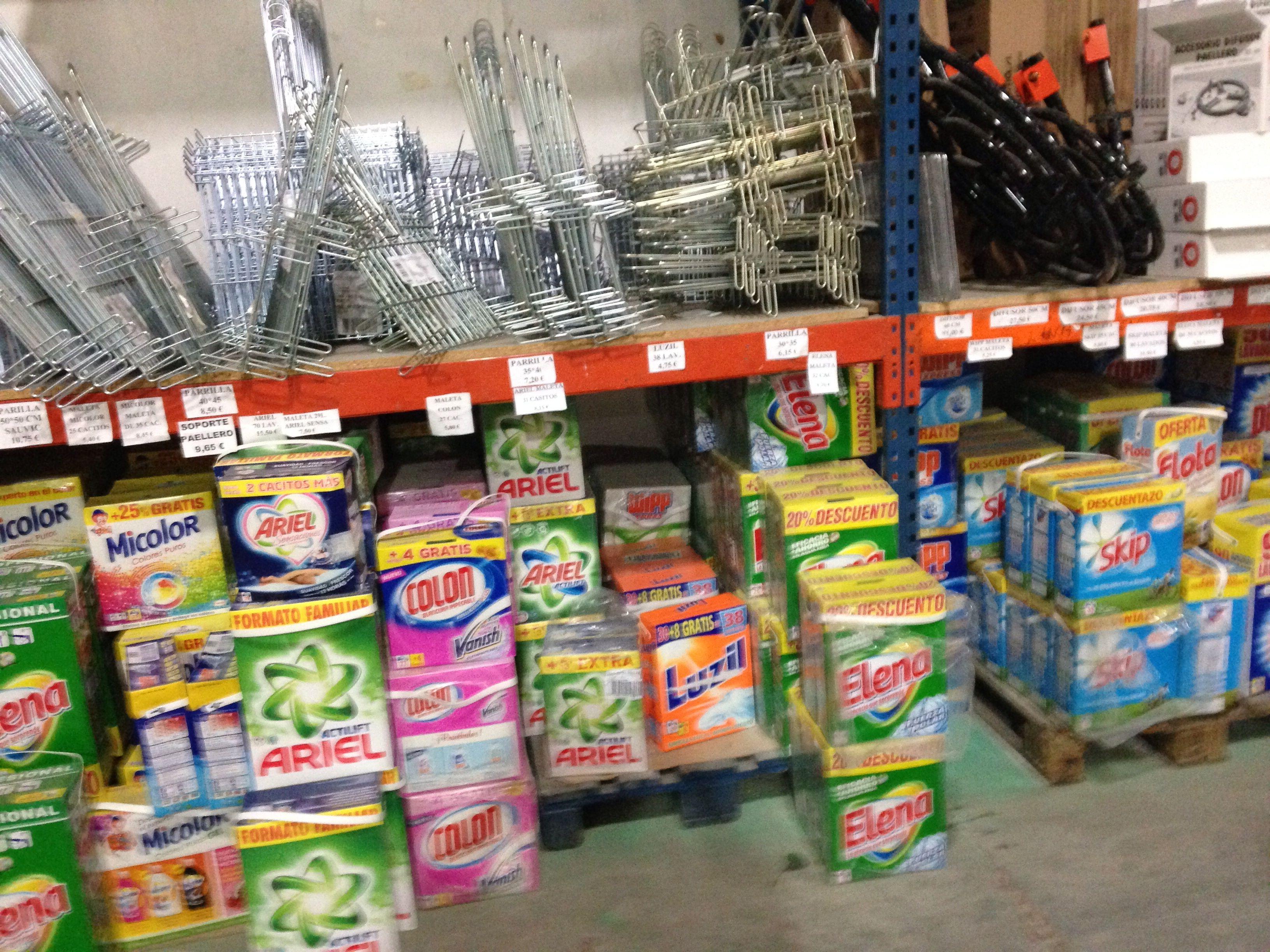 40 marcas de maletas y sacos detergente
