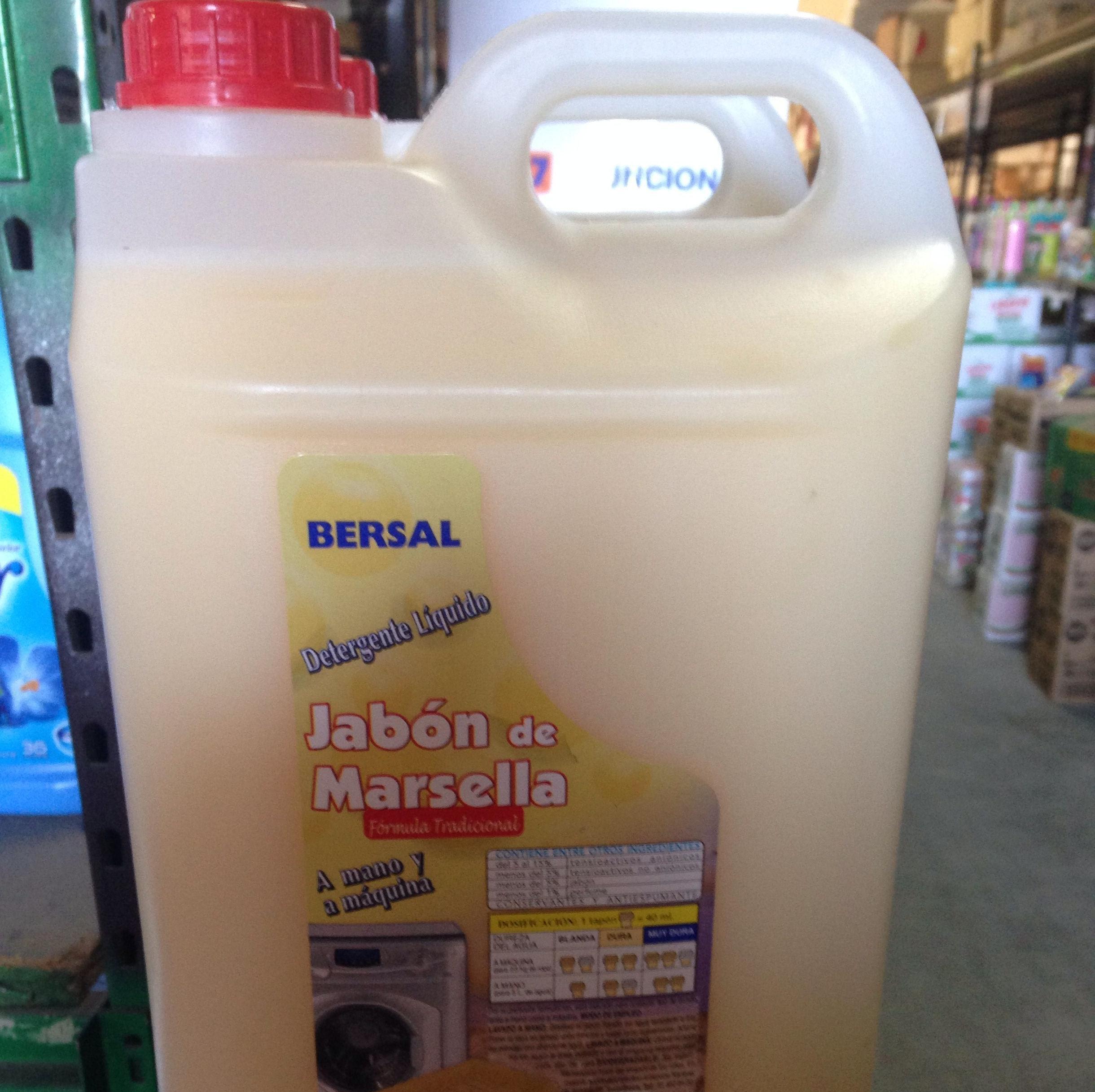 Detergente 5l Marsella