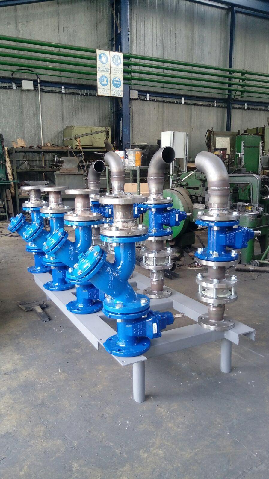 Fontanería industrial: Servicios de ALFREDO IRISARRI GAZQUEZ
