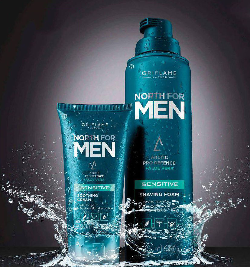 Productos para el cuidado facial masculino