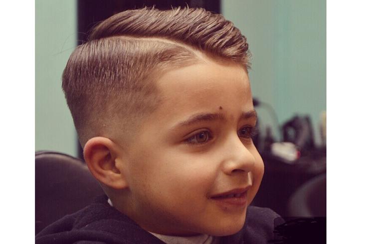 Cortes de cabello barber shop para ninos