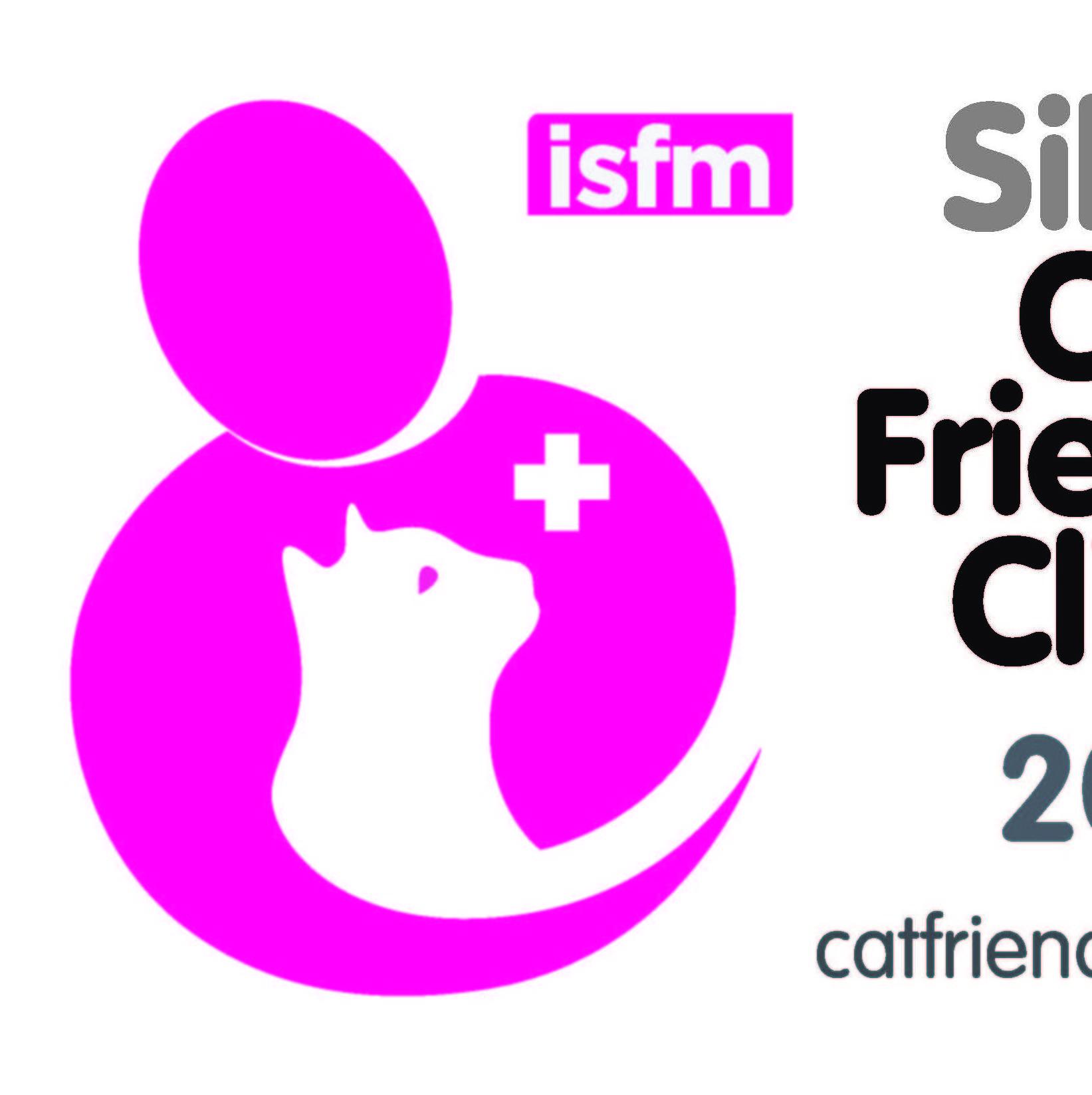 Cat Friendly Clinic Silver - Hospital Amigable con Gatos Plata - ISFM