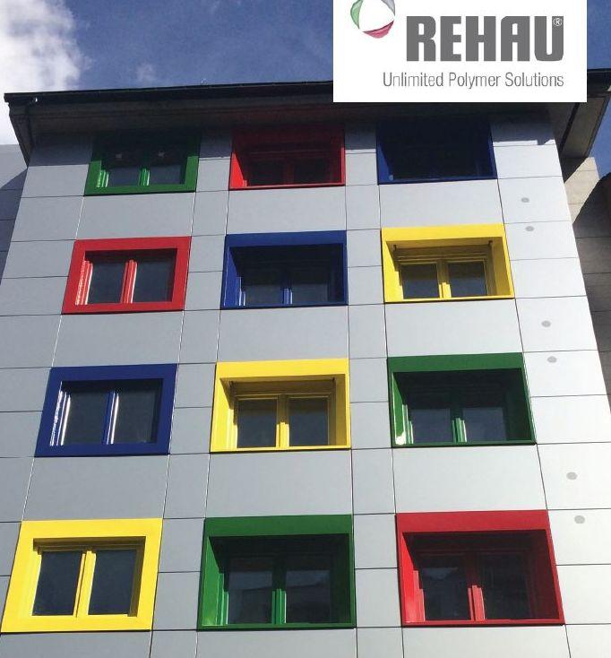 Amplia gama de colores para ventanas de PVC.