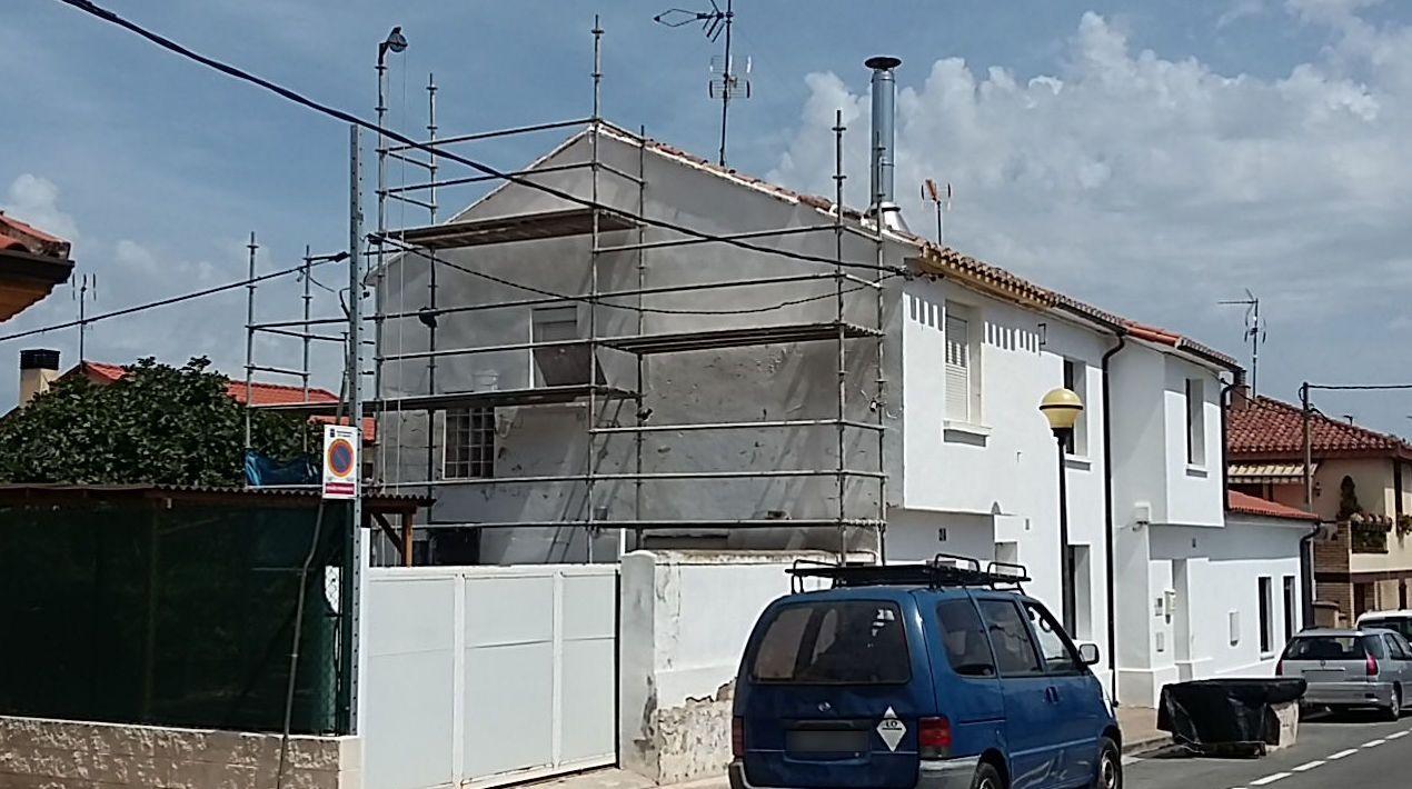 Revestimiento De Fachadas De Piedra En Logroño