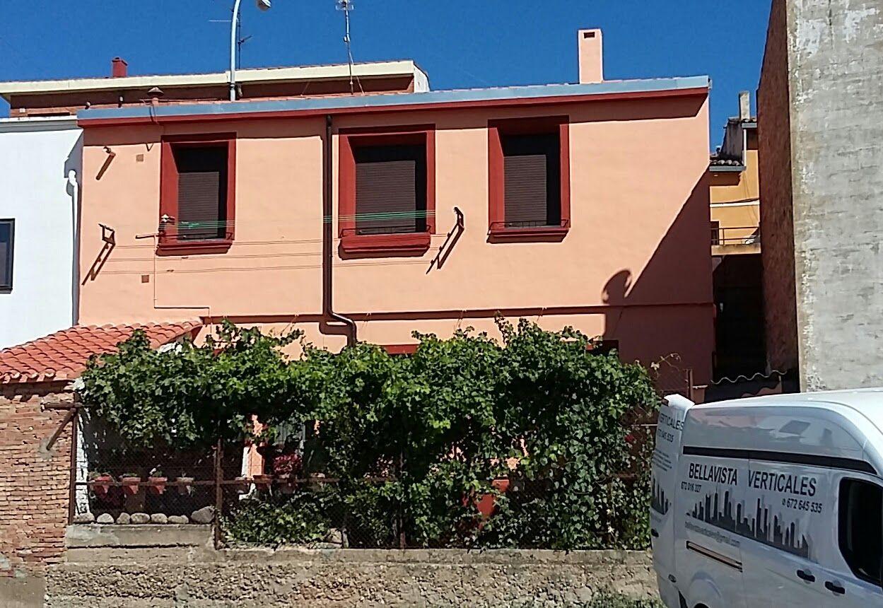 Fin de obra de restauración de fachada y tejado