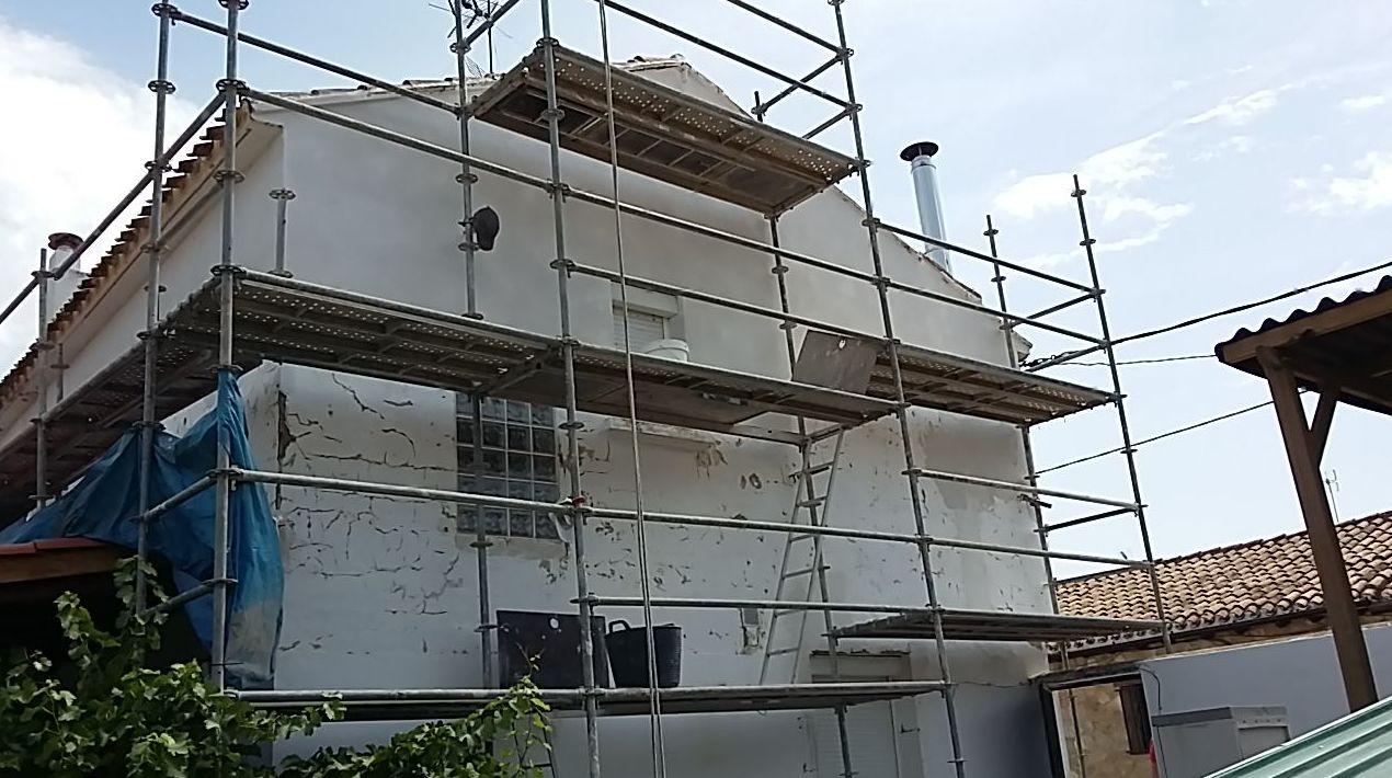Limpieza de fachadas: Trabajos de Bellavista Verticales 2014, S. L.
