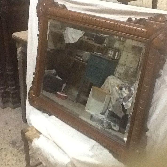 Restauración de espejos en Pamplona