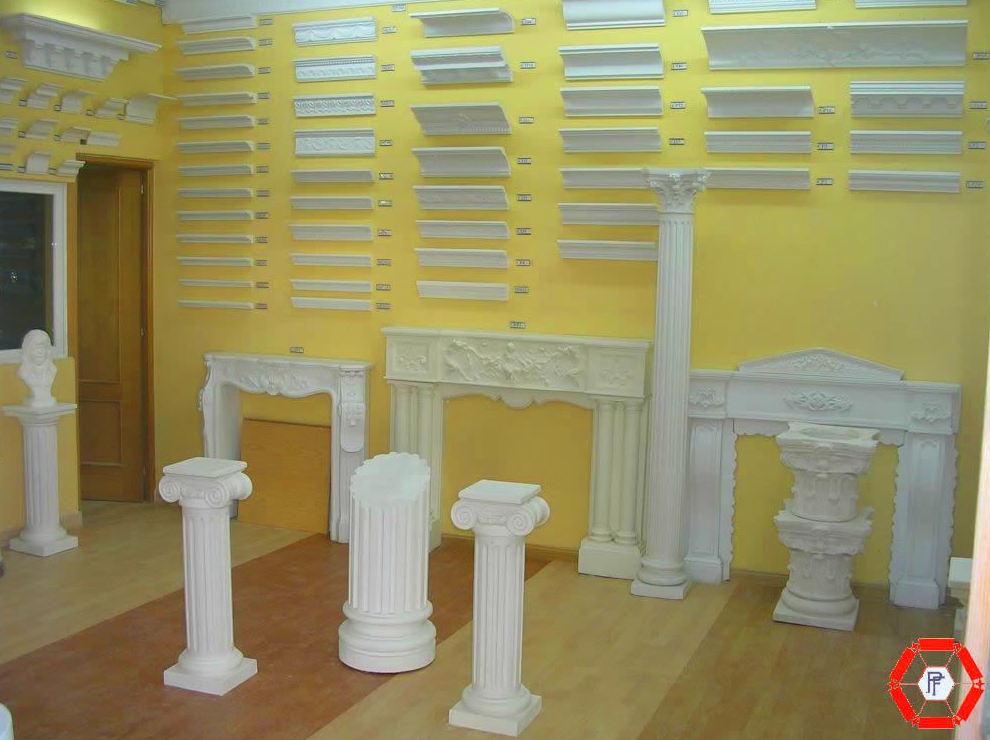 Gran diversidad de decoracion en escayola
