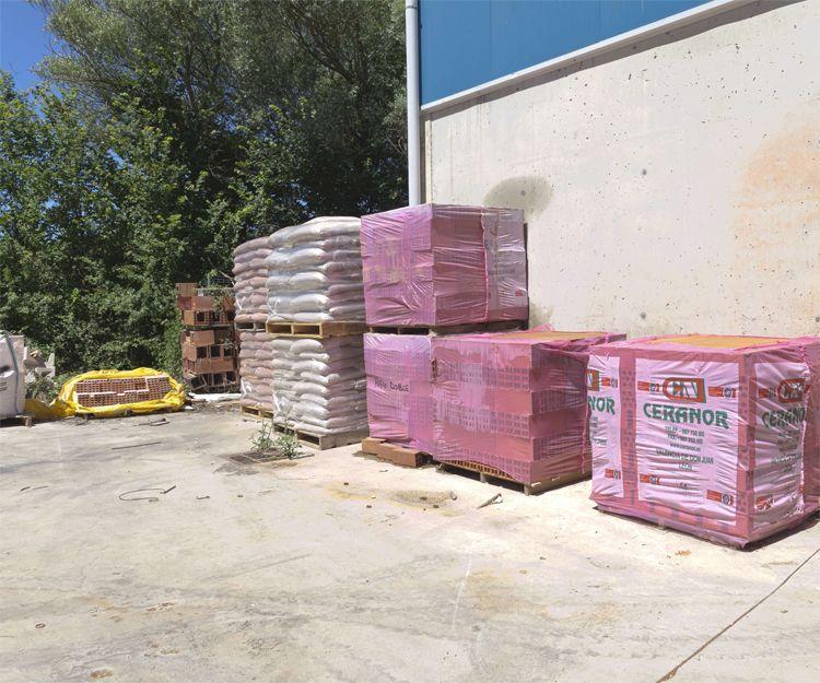 Venta de material de construcción en Burgos