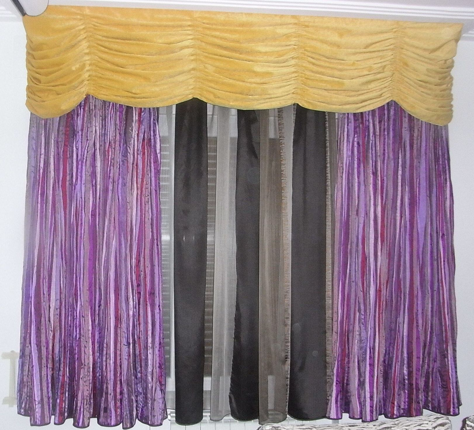Cortinas telas cor slida cortina de tule telas cortinas for Cortinas de tela