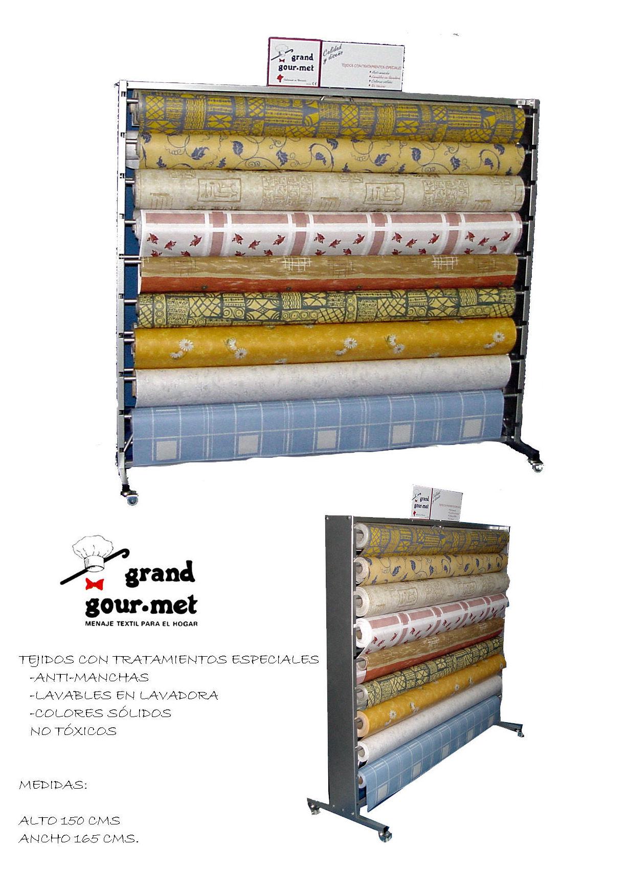 Mobiliario de expositores productos de grand gour met - Textil hogar pamplona ...