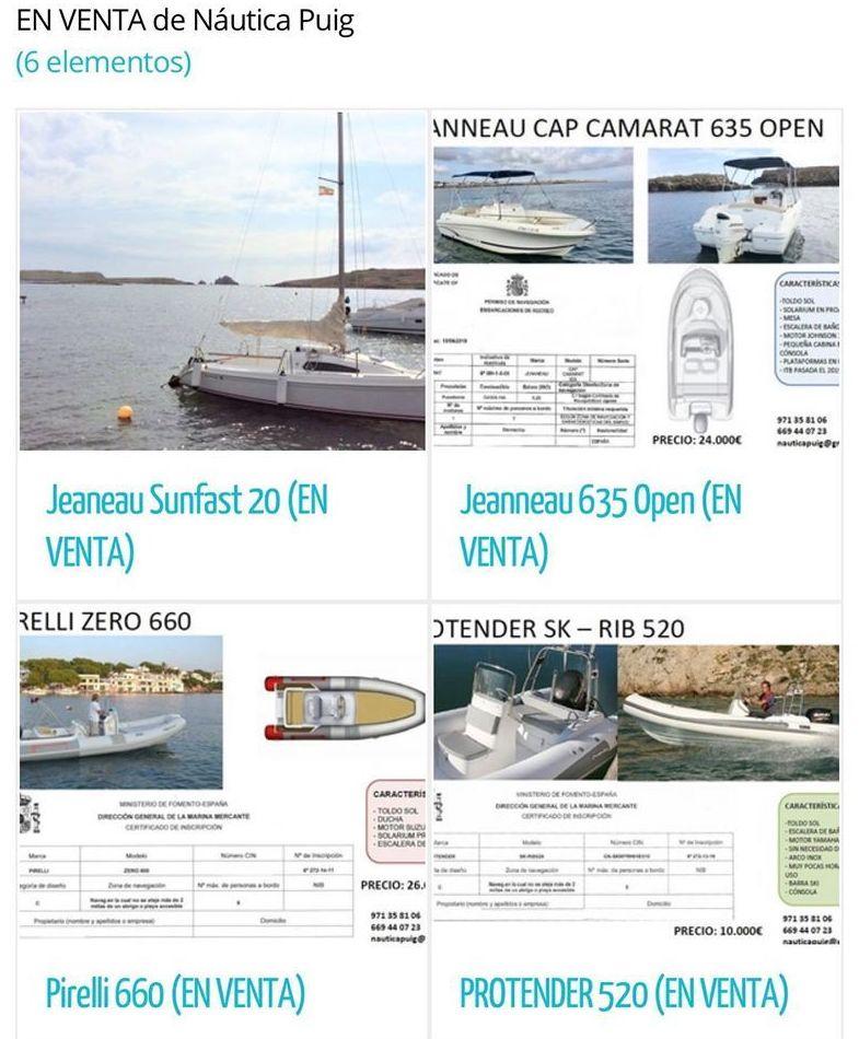 Consúltanos sobre nuestras embarcaciones en venta