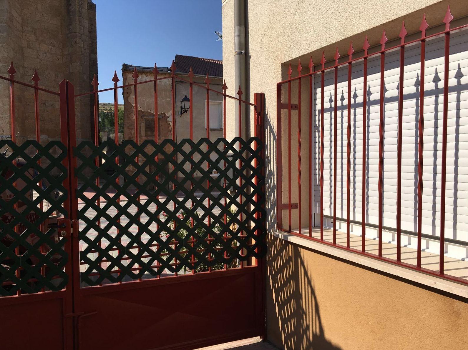 Pintura de rejas en Valladolid