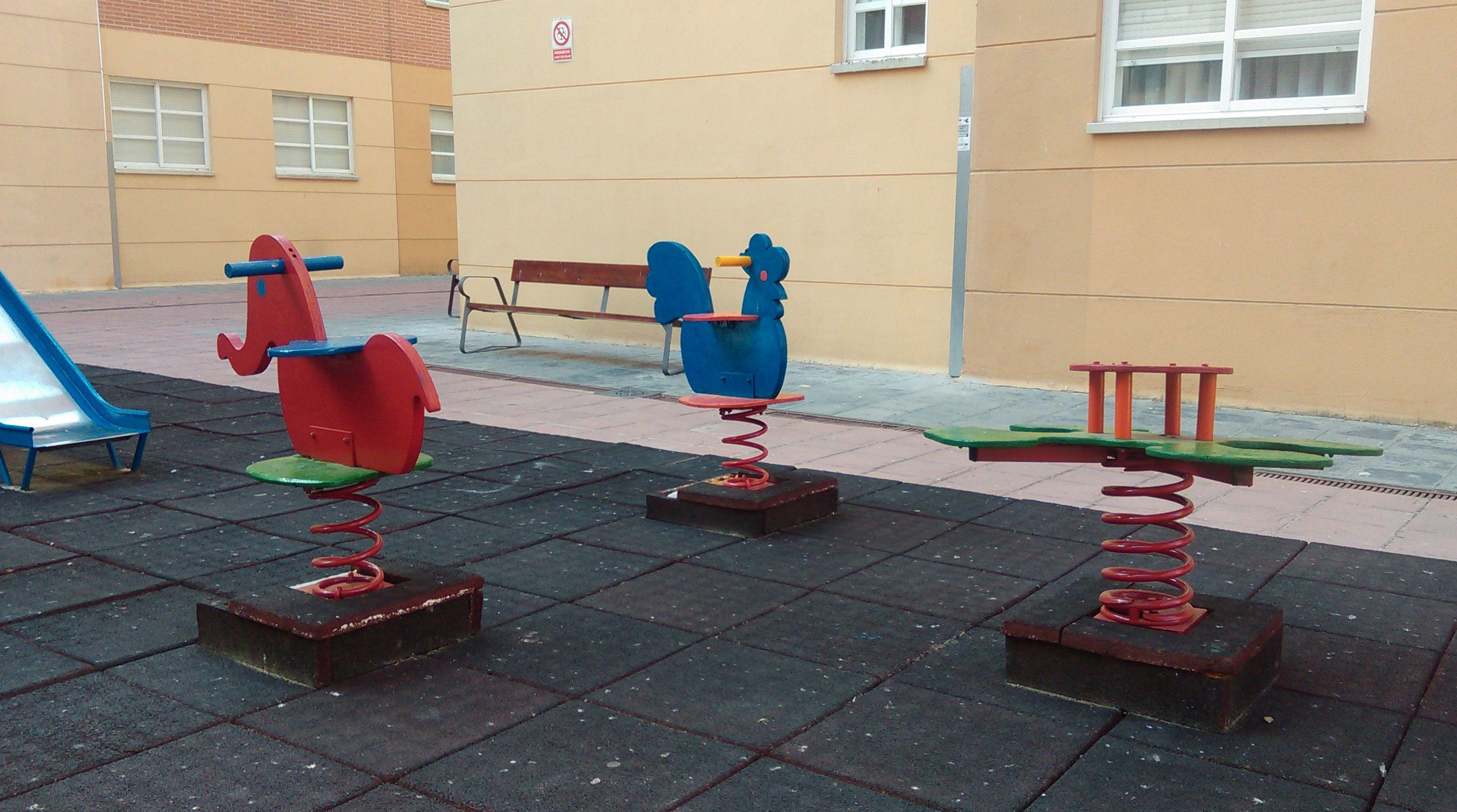 Pintura de parque infantil